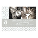 Modern Charm Engagement Party Invitations