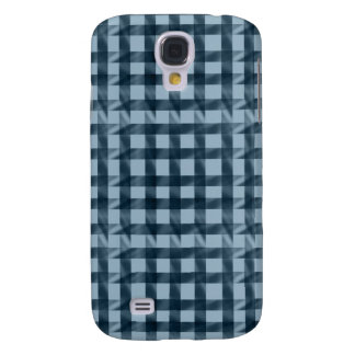 Modern Check Pattern - Blue Samsung S4 Case