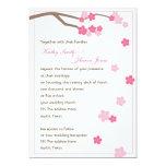Modern Cherry Blossom 'Sakura' Wedding Invitation