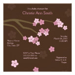 Modern Cherry Blossoms Baby Shower Invitation