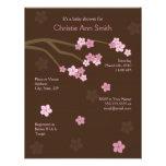 Modern Cherry Blossoms Baby Shower Invitation
