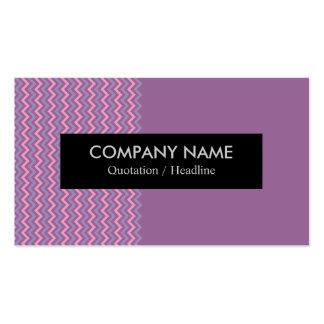 Modern Chevron Business Card
