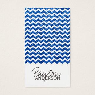 Modern Chevron Business Card Template
