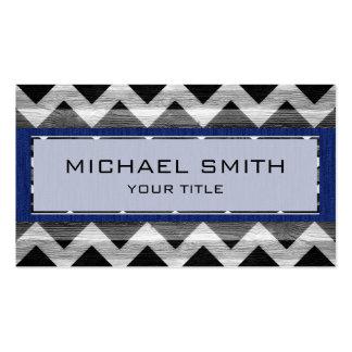 Modern Chevron Pattern #13 Business Card Templates