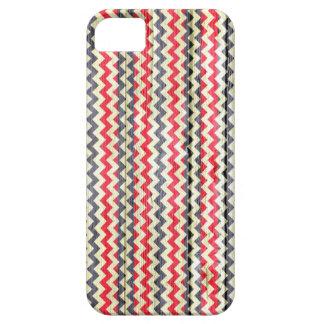 Modern Chevron Pattern Wooden #5 iPhone SE/5/5s Case