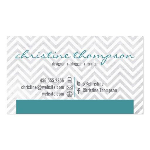 Unique images of chevron business card the business cards design modern chevron professional business card colourmoves