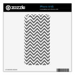 Modern Chevron Stripes Decals For The iPhone 4S