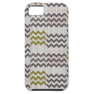 Modern Chevron Zig Zag Geometric Pattern iPhone SE/5/5s Case