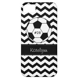Modern Chevron Zigzag Soccer Phone Case Cover iPhone 5 Cases