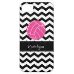 Modern Chevron Zigzag Volleyball iPhone 5 Case