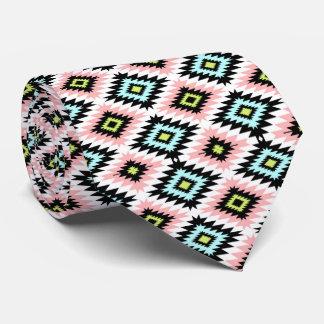 Modern Chic Aztec Hipster Geometric Men's Tie