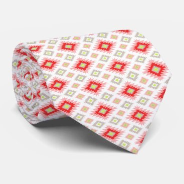 Aztec Themed Modern Chic Aztec Hipster Geometric Pattern Neck Tie