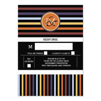 Modern chic manly pattern card