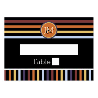 Modern chic manly pattern large business card