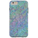 Modern Chic Pastel Colors Marble Mosaic Pattern Tough iPhone 6 Plus Case