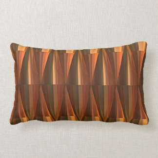 Modern Chic Retro 3D Abstract Cone Shape Pattern Pillow
