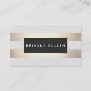 striped business cards zazzle