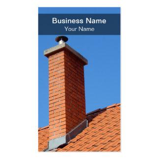 Modern Chimney Business Card