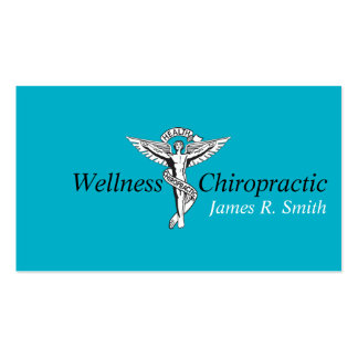 Modern Chiropractic Chiropractor Clinic Health Pack Of Standard Business Cards
