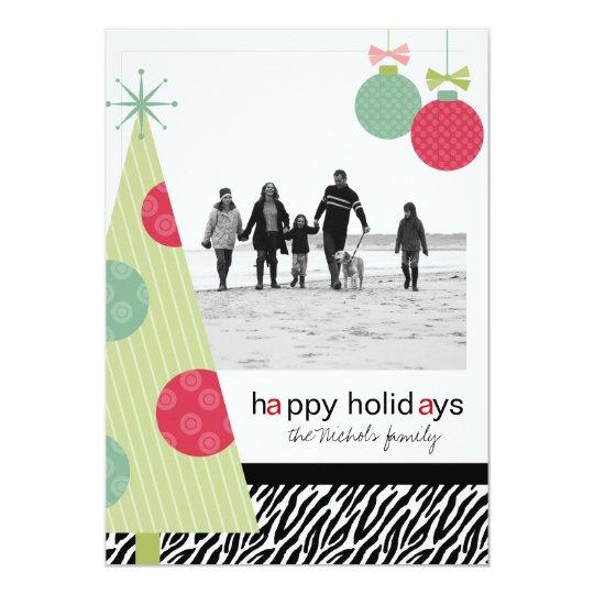 Modern Christmas 5 x7 Photo Cards