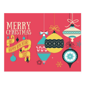 Modern Christmas Greeting Card