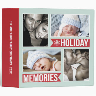 MODERN CHRISTMAS HOLIDAY 2 PHOTO ALBUM BINDER