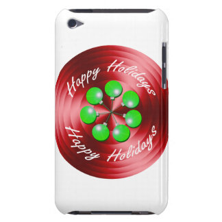 Modern Christmas Holiday Spin iPod Touch Case-Mate Case
