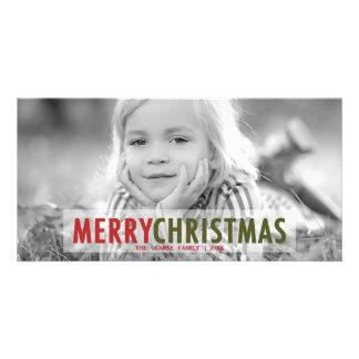 MODERN CHRISTMAS | MODERN HOLIDAY PHOTO CARD