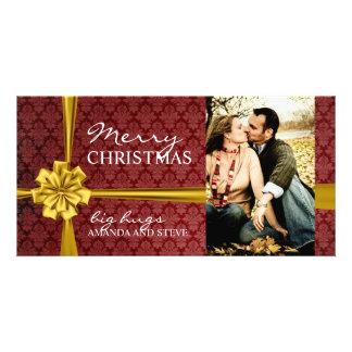 Modern Christmas Photo Card