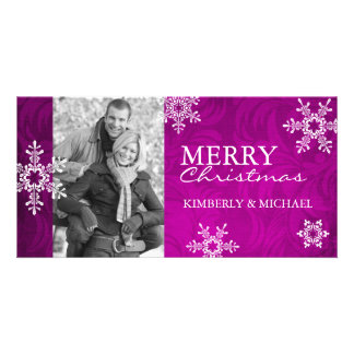 Modern Christmas Photo Card Template