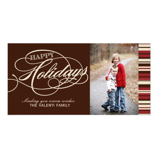 Modern Christmas Photo Cards