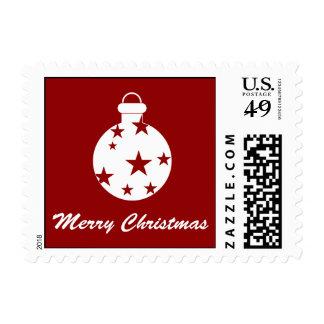 Modern Christmas Stamp