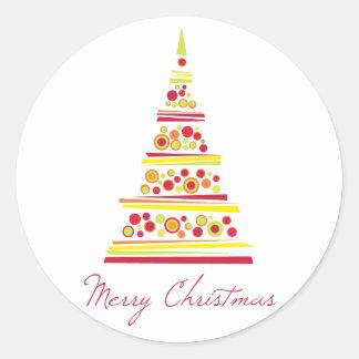 Modern Christmas Sticker