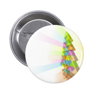 Modern Christmas tree concept Buttons