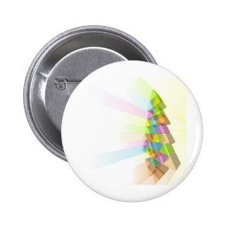 Modern Christmas tree concept Pins