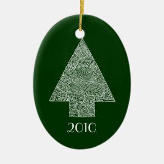 Modern Christmas Tree Ornament