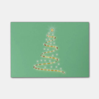 Modern Christmas Tree Post-it Notes
