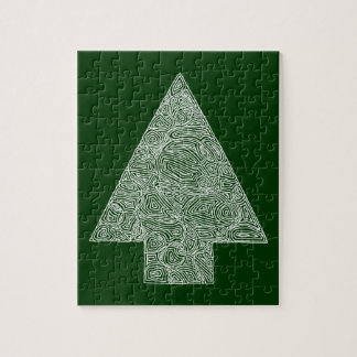 Modern Christmas Tree Puzzle