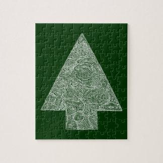 Modern Christmas Tree Puzzles