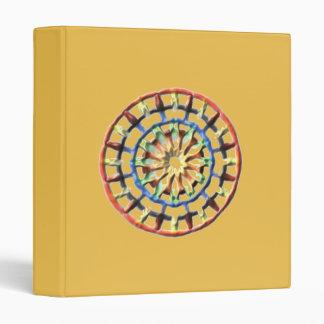 Modern circle pattern binder