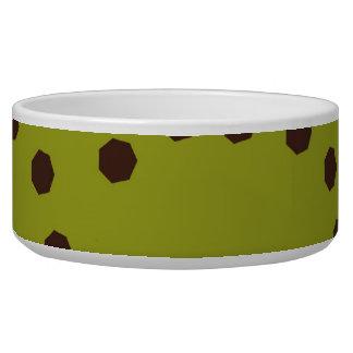 Modern Circle Pattern Bowl