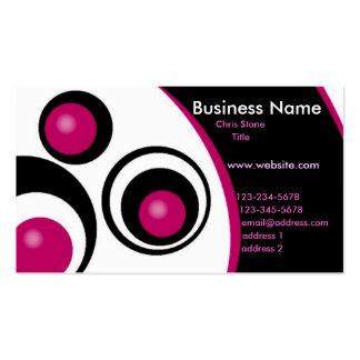Modern Circles Business Card
