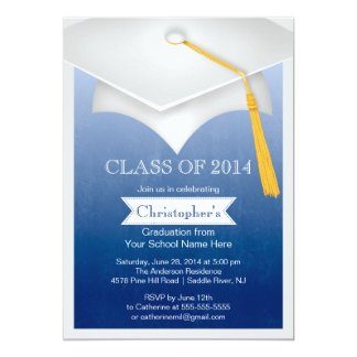 Modern Class of 2014 Graduation Party Invitation