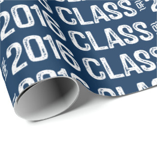 college wrapping paper