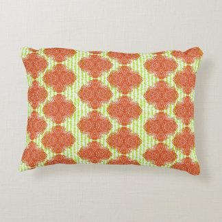 Modern Classy Vintage Inspired Damask Print Decorative Pillow