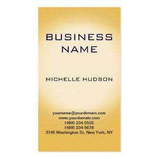 Modern Clean Consultant Business Card