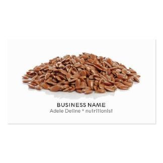Modern Clean Dietitian Nutritionist Coach Business Card