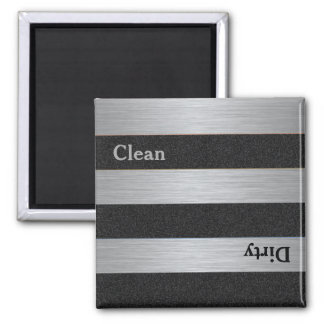 Modern Clean Dirty Dishwasher Magnet