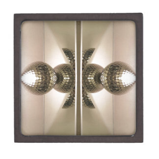 Modern Clean Geometric Mirrored Cabinet Knobs Gift Box