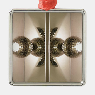 Modern Clean Geometric Mirrored Cabinet Knobs Metal Ornament